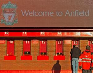 ליברפול ואצטדיון הבית אנפילד