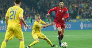 כריסטיאנו רונאלדו נגד האוקראינים